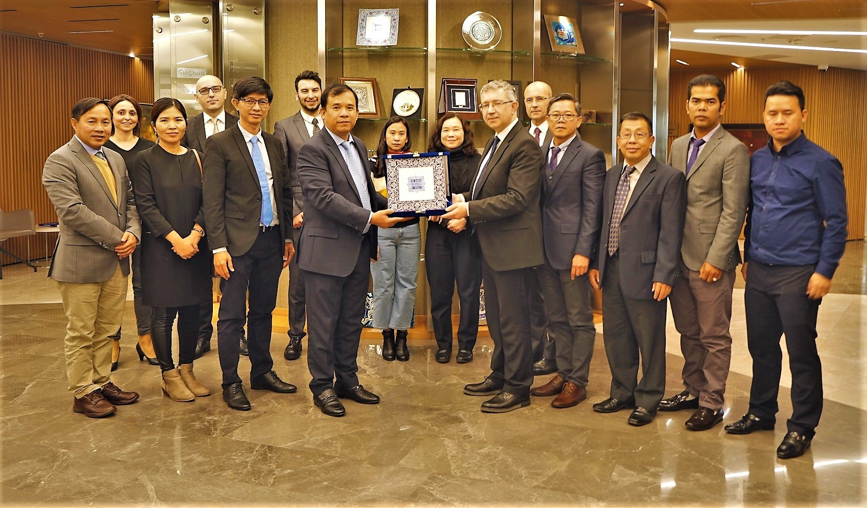 Cambodian banking delegation made a visit to the Banks Association of Turkey