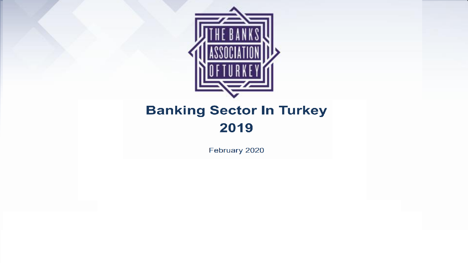 Banking Sector In Turkey 2019